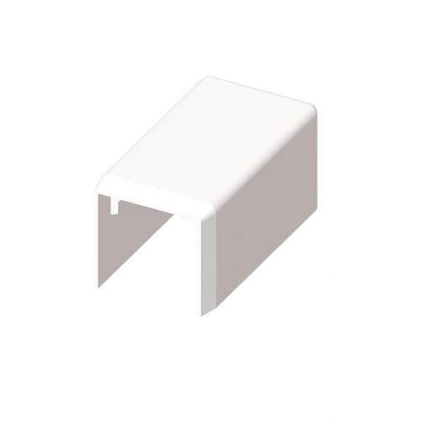 kopos endst ck f r kabelkanal pvc 20x20 weiss 8621 enddeckel zubeh r kopos kabelkanal. Black Bedroom Furniture Sets. Home Design Ideas