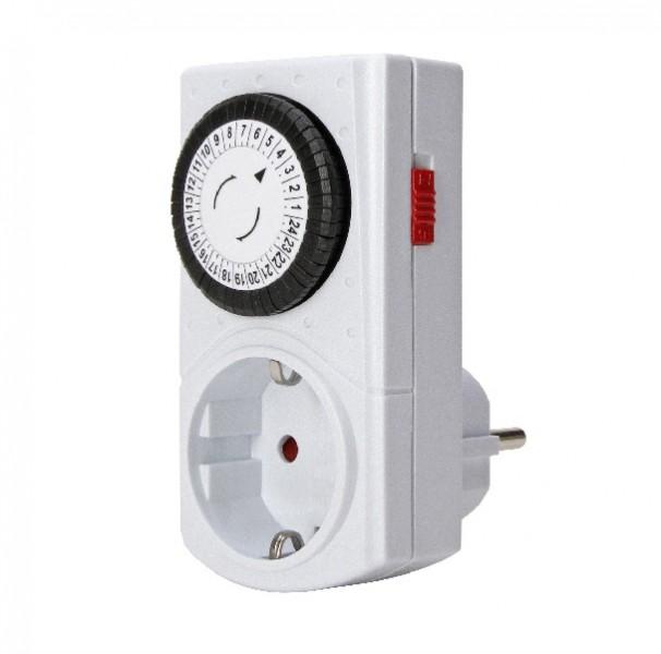 kopp mini zeitschaltuhr schaltuhr mechanisch f r steckdose 195302071 zubeh r lichttechnik. Black Bedroom Furniture Sets. Home Design Ideas