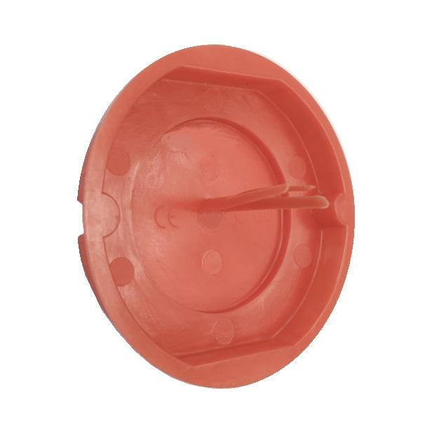 rot 60 mm für Schalterdosen 100 Stück Signaldeckel Putzdeckel