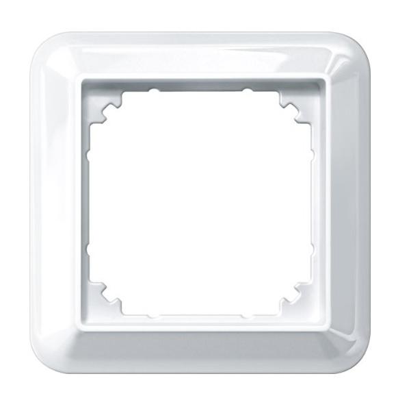 merten rahmen aufputzgeh use polarwei gl nzend m smart 1. Black Bedroom Furniture Sets. Home Design Ideas