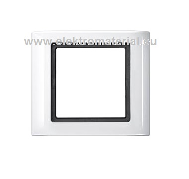 merten aquadesign 400119 1 fach rahmen polarwei merten. Black Bedroom Furniture Sets. Home Design Ideas