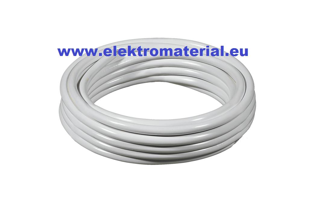 100m PVC Leitung H05VV-F 3G1,5 mm² weiss | PVC Leitung H03VV-F-H05VV ...